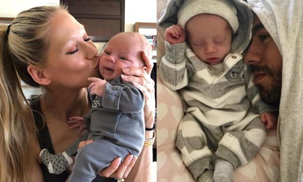 Enrique Iglesias y su novia presentan a sus bebes en redes sociales