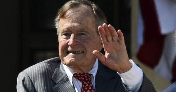 A los 94 años murió George Bush, el presidente número 41 de Estados Unidos