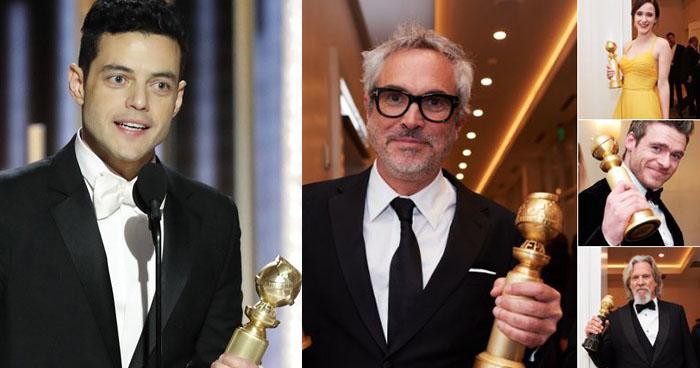 Lista completa de los ganadores de los premios Golden Globe