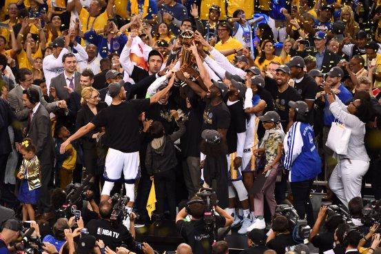 Golden State Warriors Campeones de la NBA