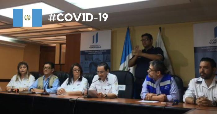 Confirman primer muerte por COVID-19 en Guatemala