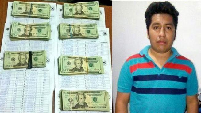 Capturan a guatemalteco que ingresó miles de dólares y quetzales de forma ilegal al país