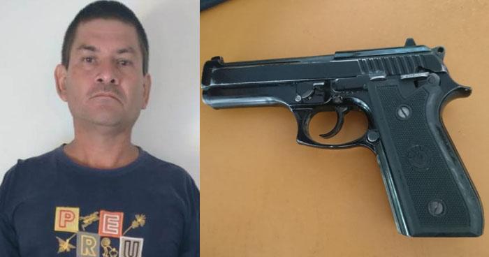Hombre armado fue detenido durante un control vehicular en Tonacatepeque