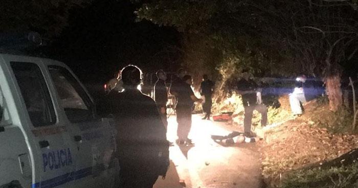 Hombre perdió la vida tras recibir varios disparos en la cabeza, en San Miguel