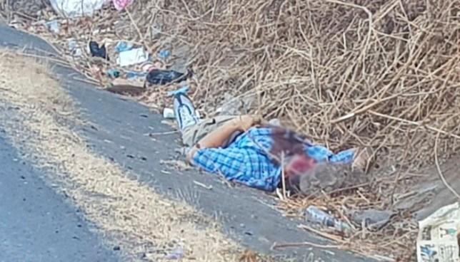 Asesinan a pedradas a un hombre y abandonan su cadáver en carretera Ruta Militar, Morazán