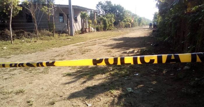 Hombre fue asesinado cuando realizaba trabajos de fumigación en Usulután