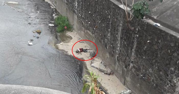 Hombre se lanza de un puente en el Bulevar Venezuela, San Salvador