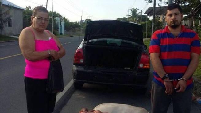 Envían a prisión a dos cuatreros capturados en Chalatenango