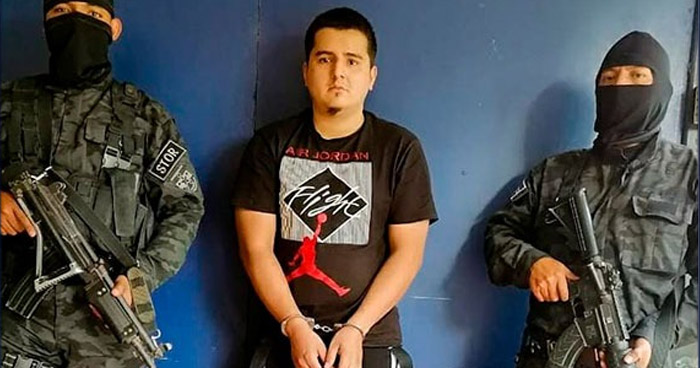 Capturan a pandillero buscado por homicidio en San Juan Opico