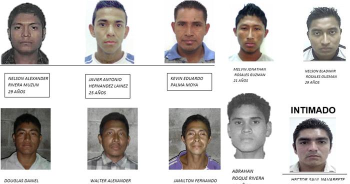 Capturan a nueve sujetos que participaron en el homicidio de un joven en San Julián