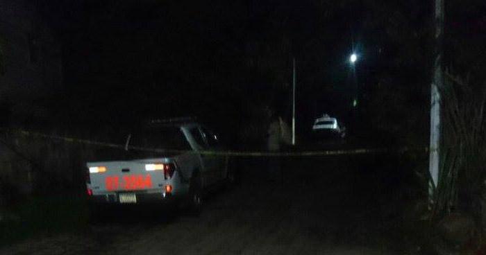 Hombre fue asesinado anoche sobre una calle principal de El Carmen, La Unión