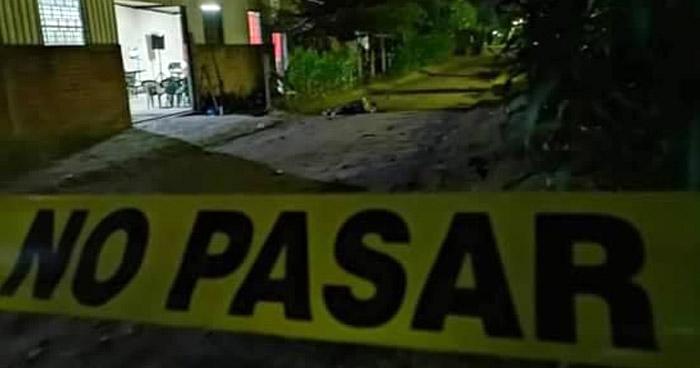 Matan a la par de una iglesia, a un hombre en San Juan Opico, La Libertad