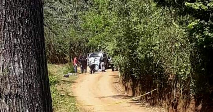 El cadáver de un hombre fue encontrado en un barranco en Atiquizaya, Ahuachapán