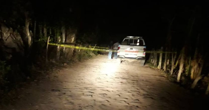 Joven fue asesinado a machetazos en Alegría, Usulután