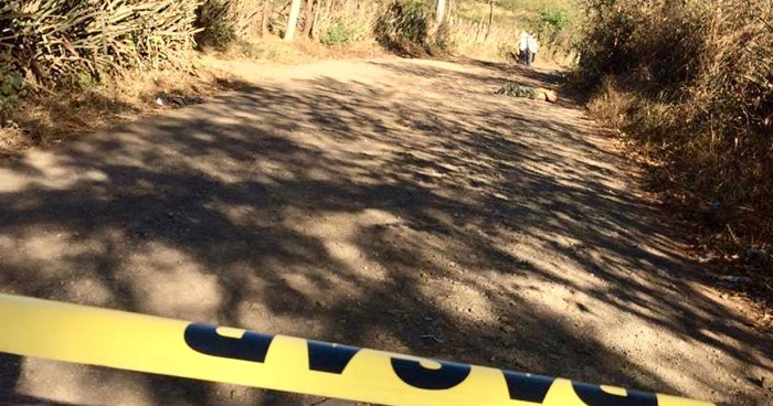 Agricultor asesinado en Anamorós, La Unión