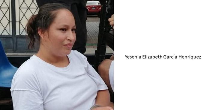 Programan audiencia contra Elizabeth García acusada de asesinar a su sobrino, de 3 años de edad