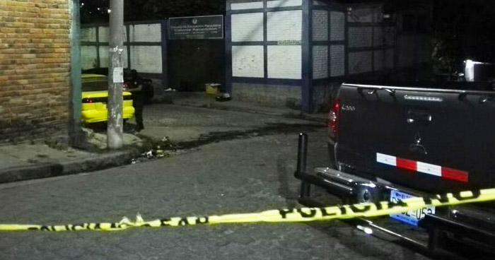 Matan a un hombre en avenida El Refugio de Ayutuxtepeque