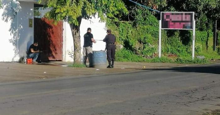 Asesinan a hombre en el parqueo de un bar en Santa Elena, Usulután