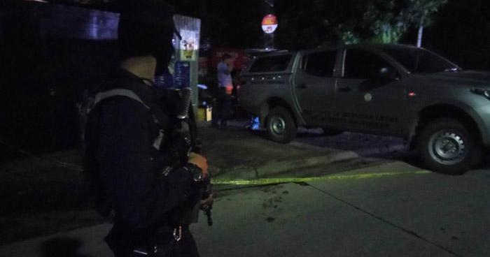 Un muerto y dos lesionados tras ataque armado en la calle al Boqueron, Santa Tecla