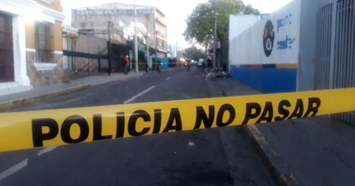 Asesinan a un albañil en el centro de San Salvador