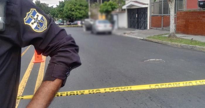 Hombre y mujer fueron asesinados en comunidad La Granjita de San Salvador