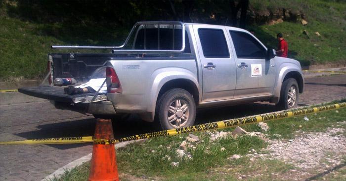 Desde una mototaxi, fue asesinado un hombre esta mañana en Ilobasco, Cabañas