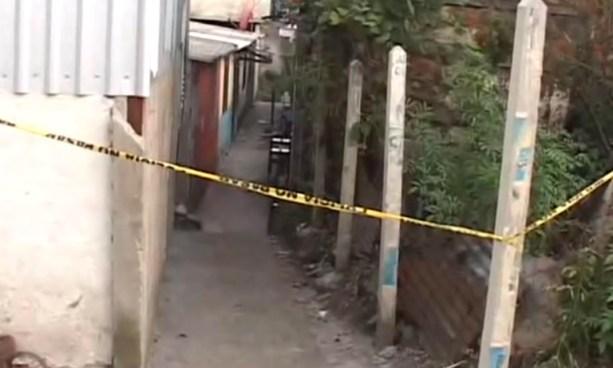 Pandillero asesinado por contrarios en centro urbano San Bartolo, Ilopango