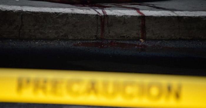 Un muerto y dos lesionados deja ataque armado en Mejicanos