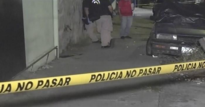 Investigan tiroteo registrado anoche en Mejicanos