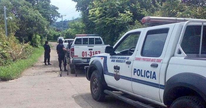 Anciano fue intercptado y acribillado a balazos por pandilleros en Panchimalco