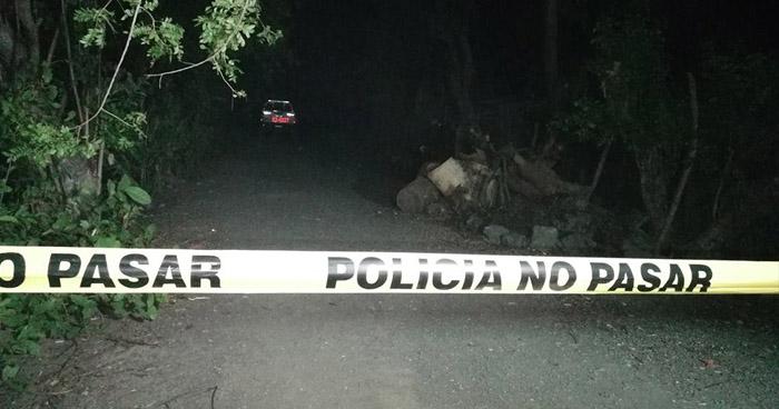 Con arma de grueso calibre, fue asesinado un hombre en San Miguel