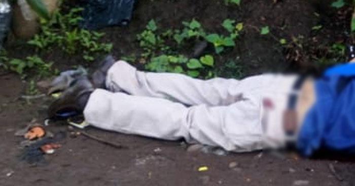 Asesinan a hombre luego de dispararle desde un vehículo San Pedro Masahuat