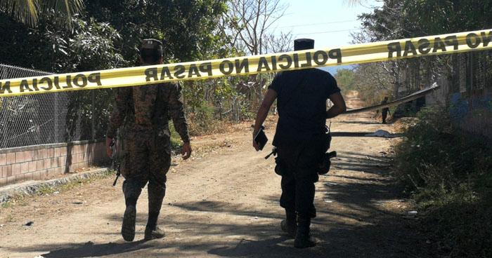 Dos hombres fueron asesinados en diferentes puntos de San Miguel
