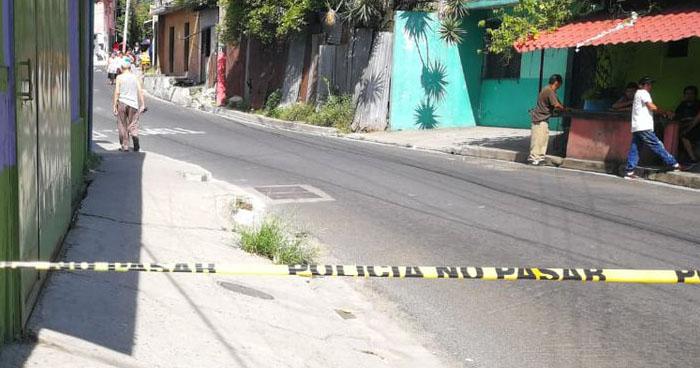 Estudiante menor de edad fue asesinado en Barrio San Esteban de San Salvador