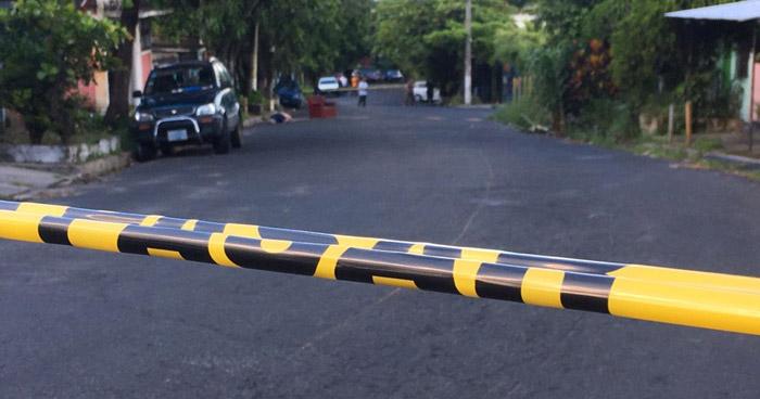 Asesinan a hombre en colonia Santa Marta de San Salvador