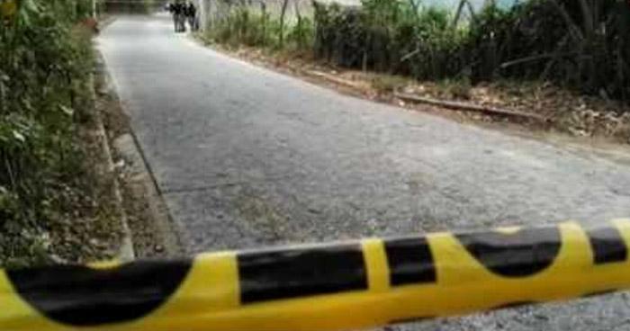 Asesinan a un hombre sobre carretera Panamericana en San Rafael Cedros