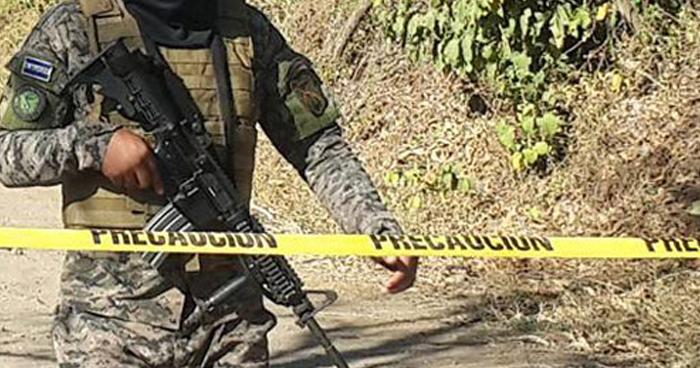 Hallan cadáver de soldado privado de libertad ayer por pandilleros en Ahuachapán