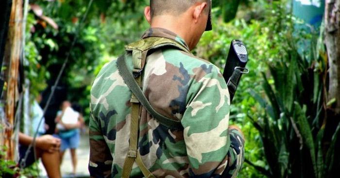 Pandilleros asesinaron a un soldado en una emboscada en Colón, La Libertad