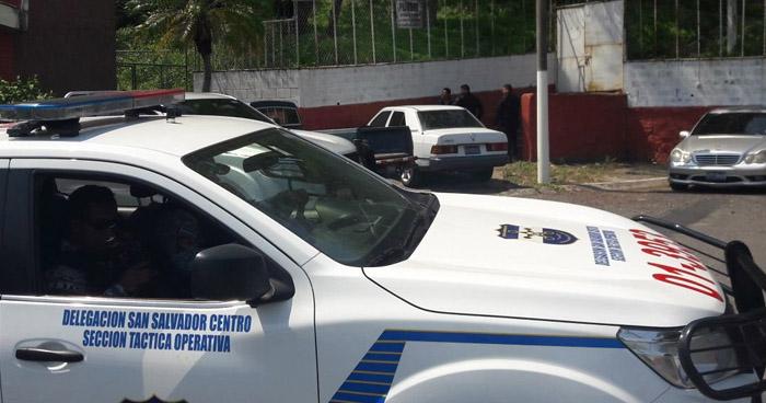 Ladrón asesinado en el Centro de San Salvador