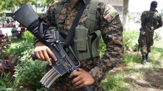 Asesinan a soldado en Tacuba, Ahuachapan