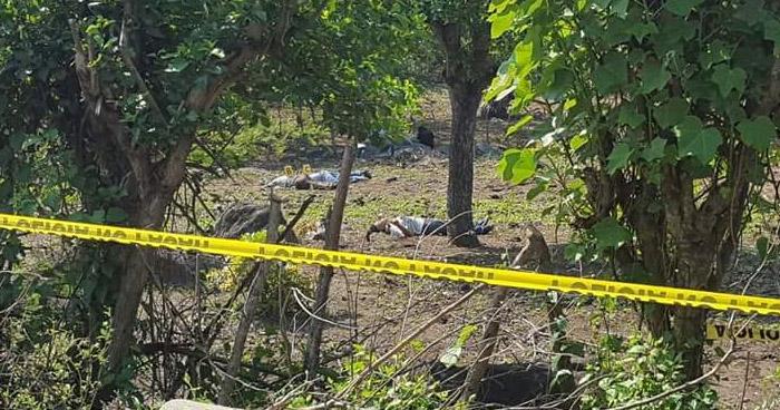 Asesinan a tres hombres en Tecoluca, San Vicente