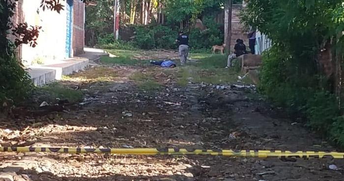 Pandillero fue asesinado a pedradas en colonia Peralta de Usulután