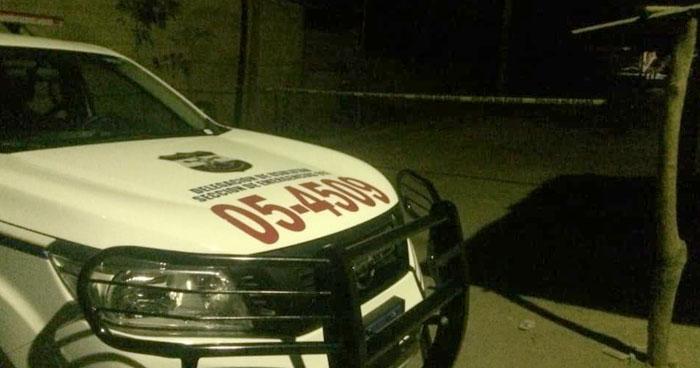 Hombre fue asesinado afuera de su vivienda en Santiago de María, Usulután