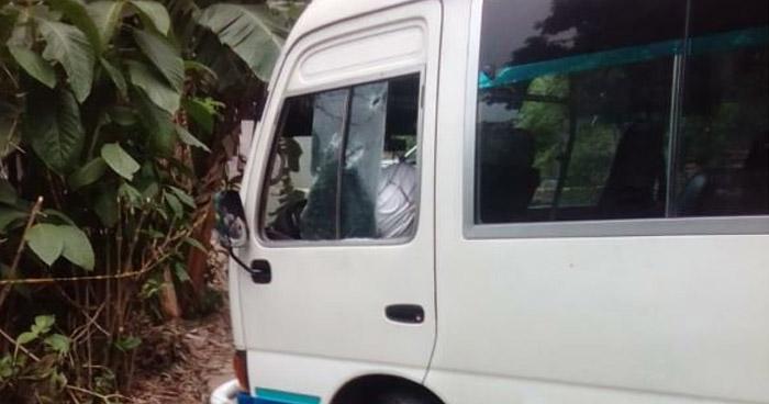Motorista de la ruta 152 fue asesinado dentro de la unidad en Zaragoza, La Libertad