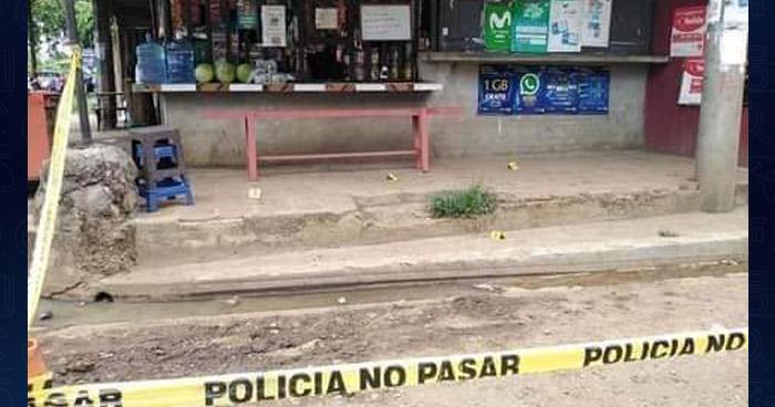Asesinan a propietario de una tienda en Turín, Ahuachapán