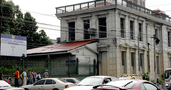 Bomberos descartan conato de incendio en edificio del Hospital Rosales