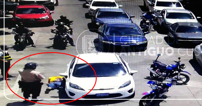 Frustran robo de vehículo en Antiguo Cuscatlán