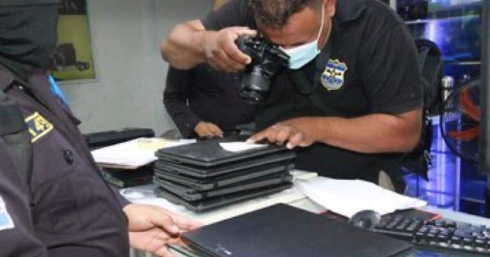 Prisión para sujetos que comercializaban computadoras hurtadas en San Miguel