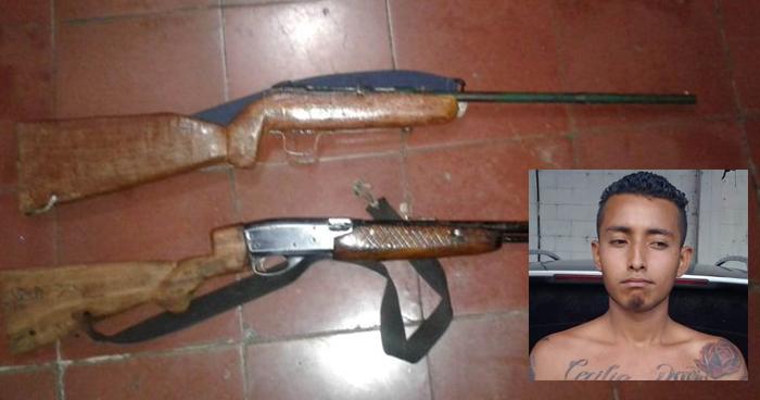 Incautan fusiles y capturan a sujetos por tenencia ilegal