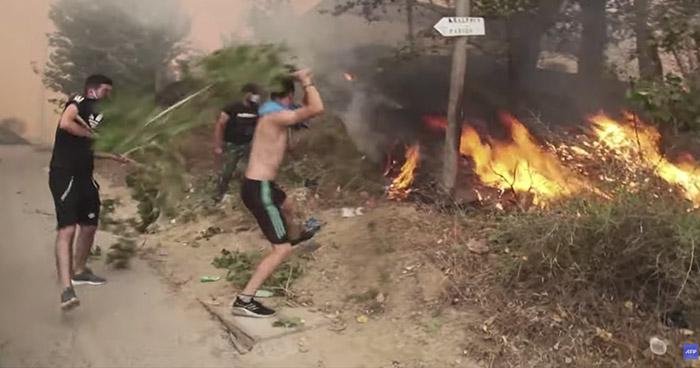 Más de 60 muertos en Argelia por incendios